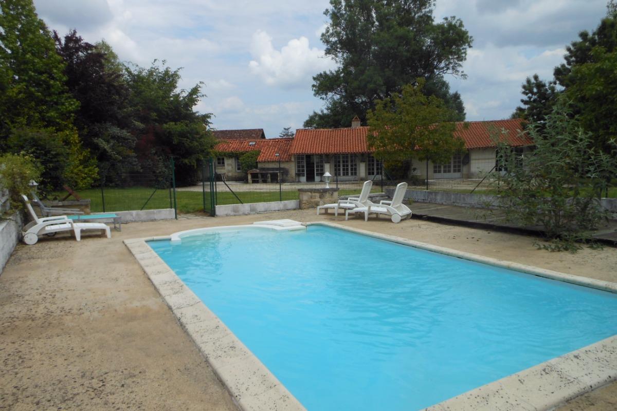 La verrie pour 5 personnes avec piscine priv e location - Location vacances avec piscine privee ...
