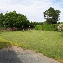 grand jardin clos  - Location de vacances - La Taillée