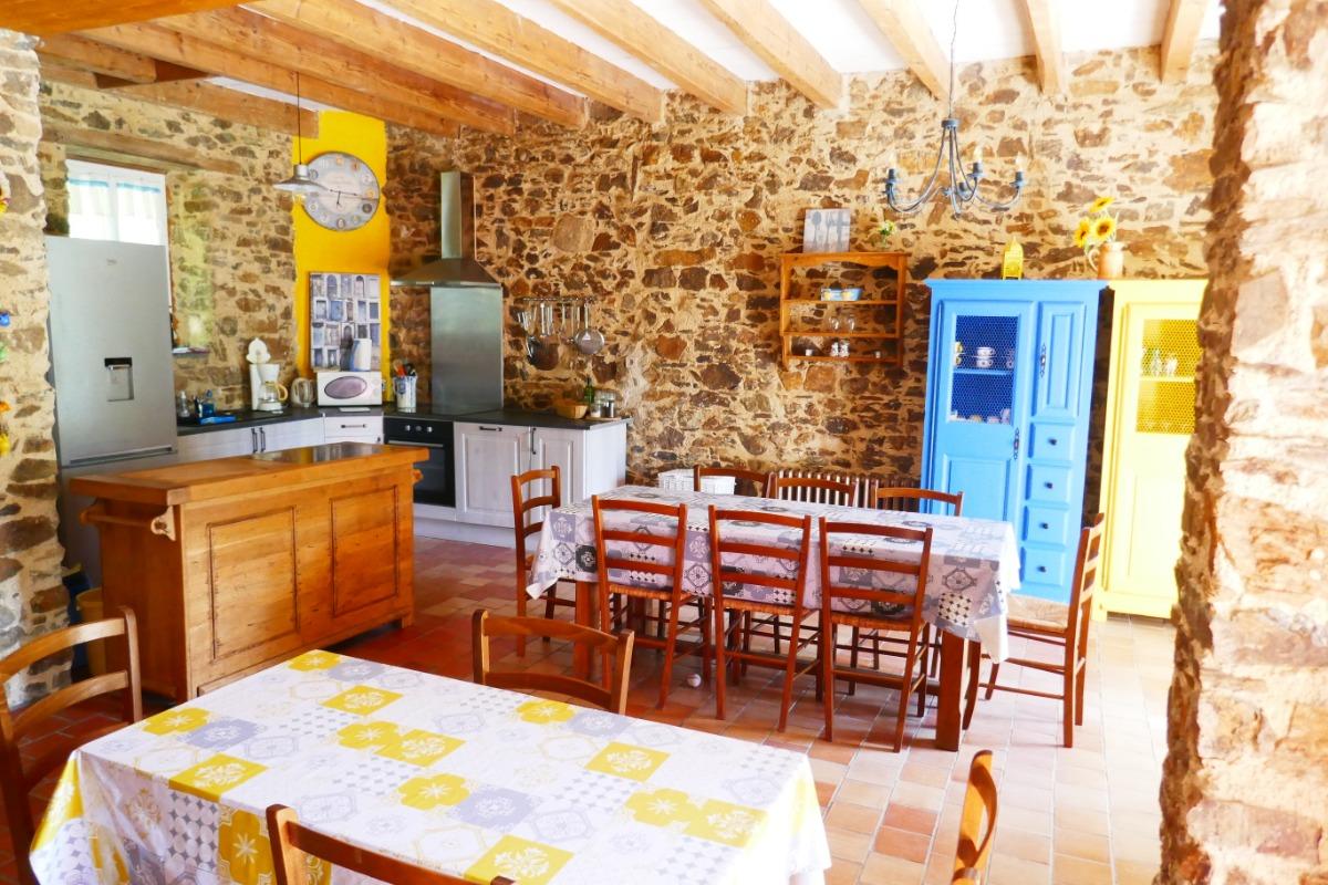 Pièce de vie Partie 1 - Location de vacances - Rocheservière