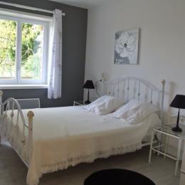 Chambre 1 lit de 140 - Location de vacances - Les Herbiers