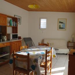 Terrasse sans vis à vis  - Location de vacances - Barbâtre