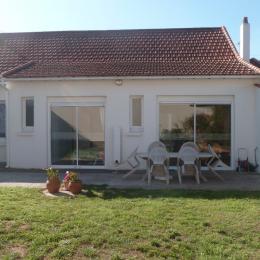 côté jardin sans vis à vis bac à sable pour les enfants - Location de vacances - Saint Jean de Monts
