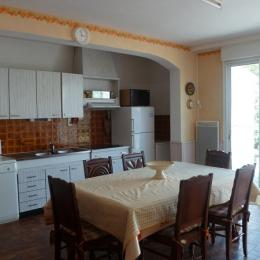 salle à manger, cuisine - Location de vacances - Saint Jean de Monts
