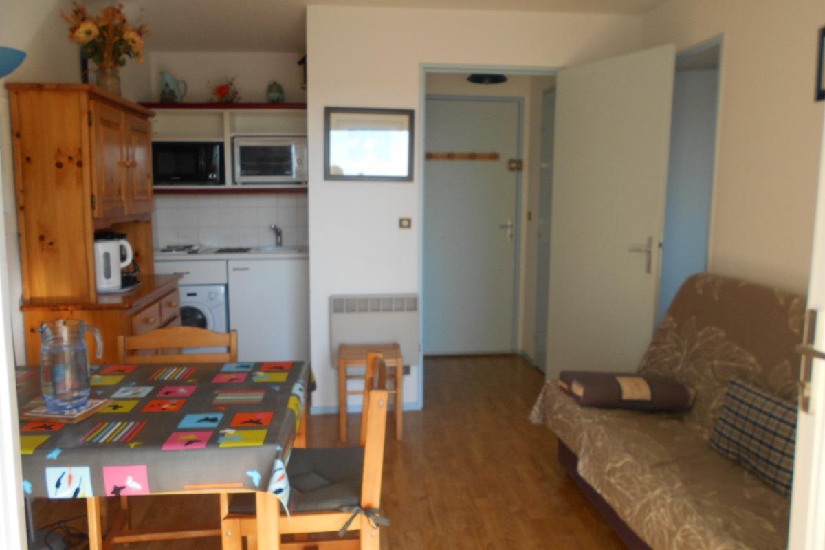 la pièce de séjour - Location de vacances - Saint Hilaire de Riez