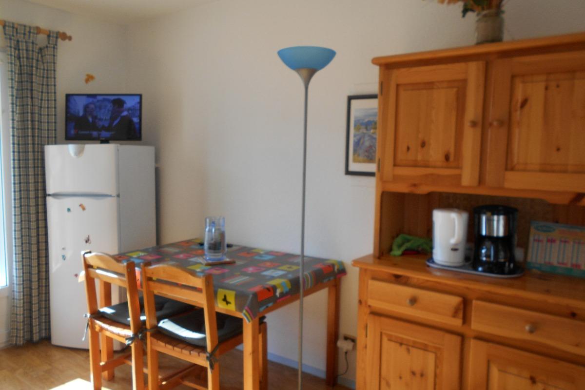 chambre avec un lit en 140 - Location de vacances - Saint Hilaire de Riez