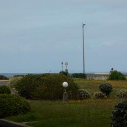 vue de la terrasse - Location de vacances - Saint Hilaire de Riez