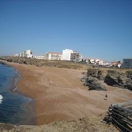 vue prise du trou du diable des plages. - Location de vacances - Saint Hilaire de Riez