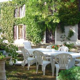Salon de Jardin - Location de vacances - Sainte Hermine