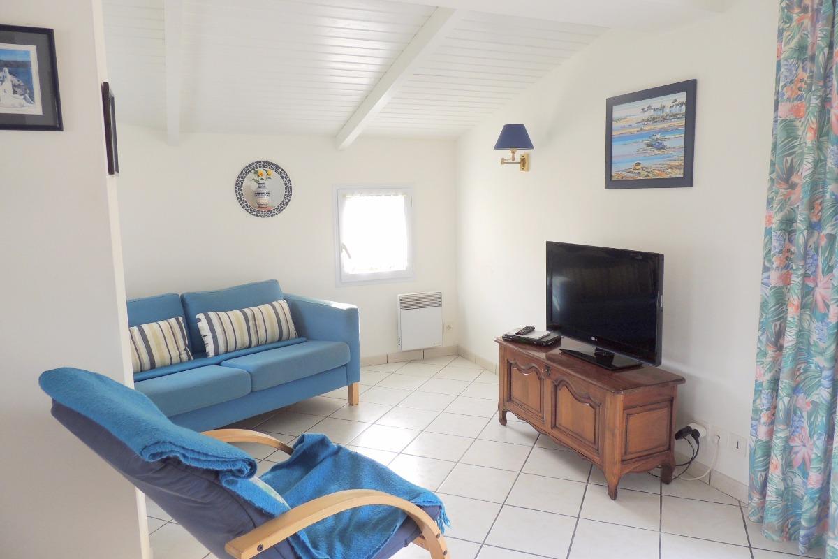 Coin salon - Location de vacances - Jard sur Mer