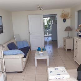 Sortie cuisine sur terrasse couverte côté jardin - Location de vacances - La Barre de Monts - Fromentine