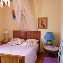 Chambre 2 à l'étage - Location de vacances - Maillezais