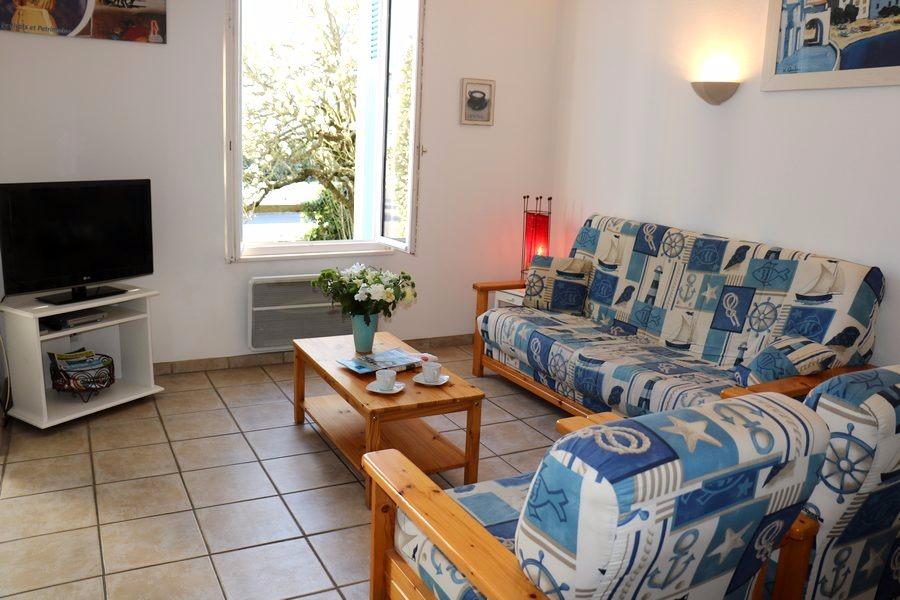 Séjour  Volets Bleus les Sables d'Olonne - Location de vacances - Château d'Olonne