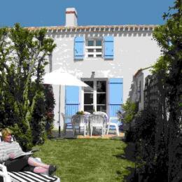 Les Mimosas, une maison d'architecte typiquement noirmoutrine - Location de vacances - Noirmoutier en l'Île