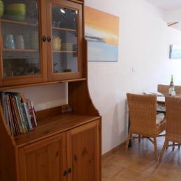 La salle de séjour et son espace Repas - Location de vacances - Noirmoutier en l'Île