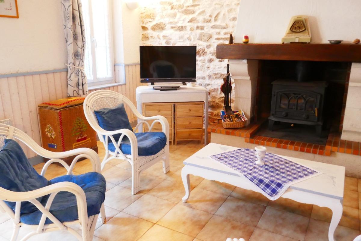 coin salon  - Location de vacances - Les Sables-d'Olonne