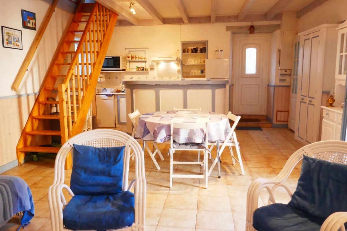 salle à manger, salon - Location de vacances - Les Sables-d'Olonne