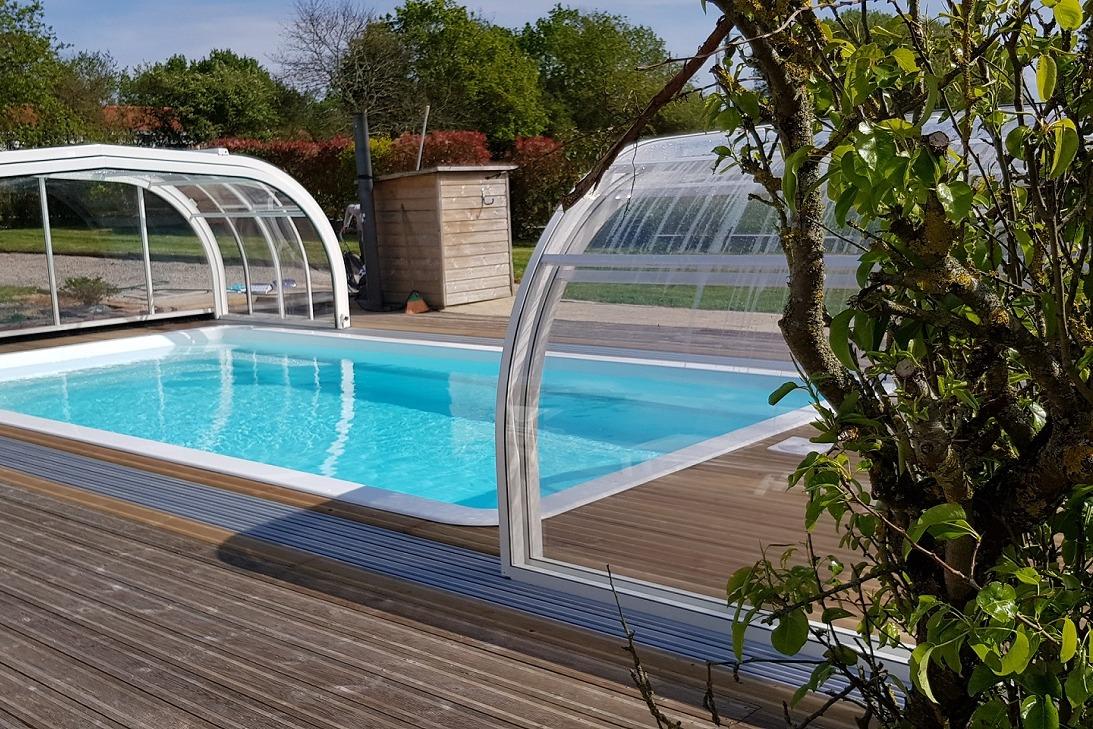 piscine ouverte - Location de vacances - Coëx