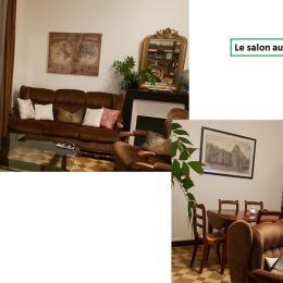 Le salon - Location de vacances - Les Châtelliers Châteaumur