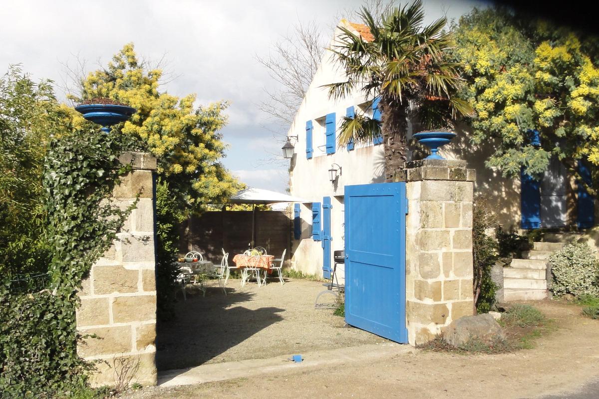 Cour-jardin. stationnement - Location de vacances - La Barre de Monts - Fromentine