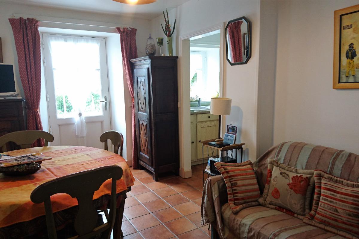 Vue du salon - Location de vacances - La Barre de Monts - Fromentine