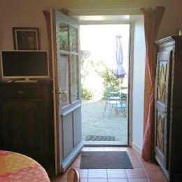 Accès à la cour-jardin - Location de vacances - La Barre de Monts - Fromentine