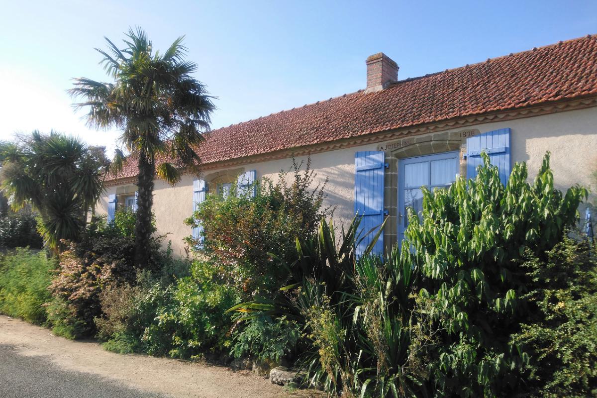 Façade de la Demeure de François de l'Isle - Location de vacances - La Barre de Monts - Fromentine
