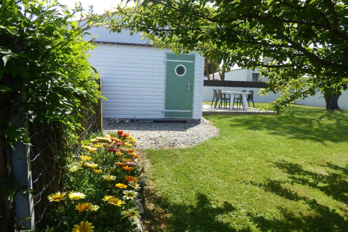 Jardin + terrasse - Location de vacances - Noirmoutier en l'Île