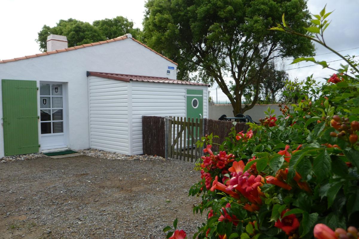 Parking privé 2 voitures - Location de vacances - Noirmoutier en l'Île
