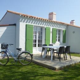 Façade plein sud  - Location de vacances - Noirmoutier en l'Île
