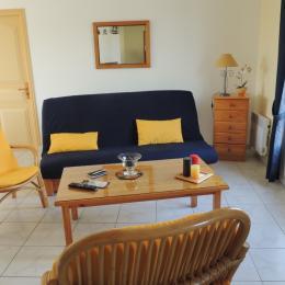 Salon avec cheminée - Location de vacances - La Tranche sur Mer