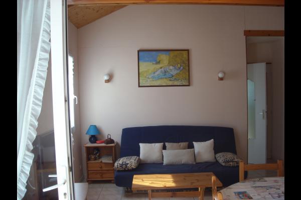 Le salon - Location de vacances - La Tranche sur Mer
