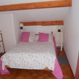 Coin nuit alcôve séparé par un rideau (1 lit 140) - Location de vacances - La Barre de Monts - Fromentine