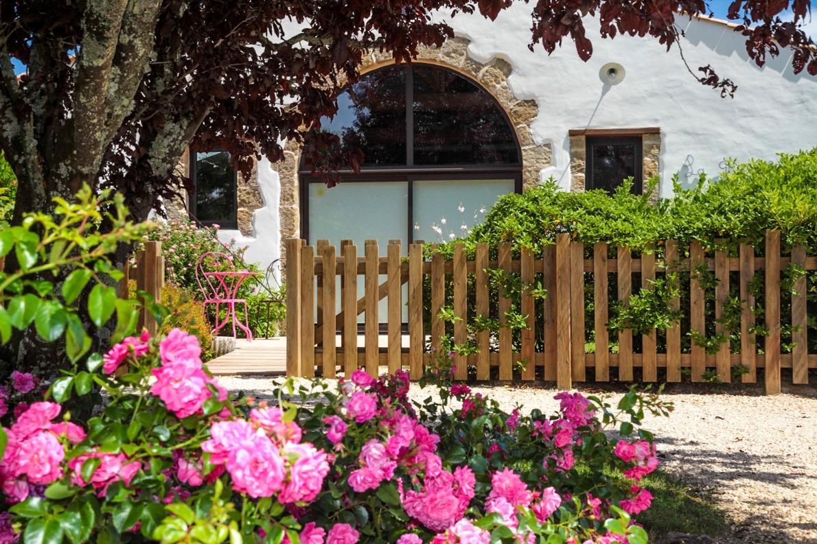 Gîte avec sa piscine et sa terrasse privée - Location de vacances - Sallertaine