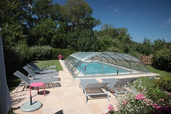 Chambre 2 lits 90 - Location de vacances - Sallertaine