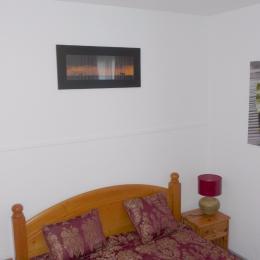 Chambre 1 lit de 140 - Location de vacances - La Tranche sur Mer
