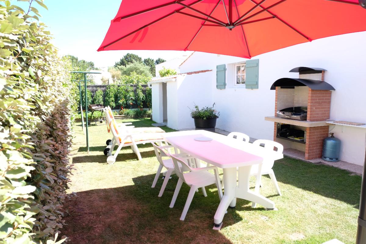 jardin privatif avec plancha - Location de vacances - Noirmoutier en l'Île