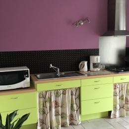 Pièce de vie - Location de vacances - Saint Georges de Montaigu