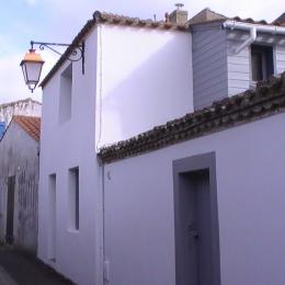 Façade rue Cadou - Location de vacances - Saint Gilles Croix de Vie