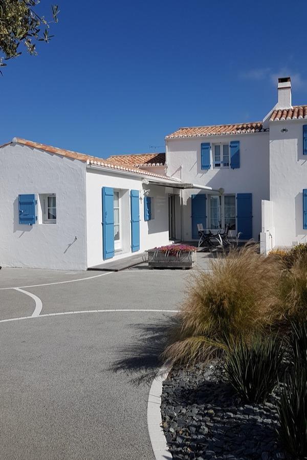 façade principale - Location de vacances - Noirmoutier en l'Île