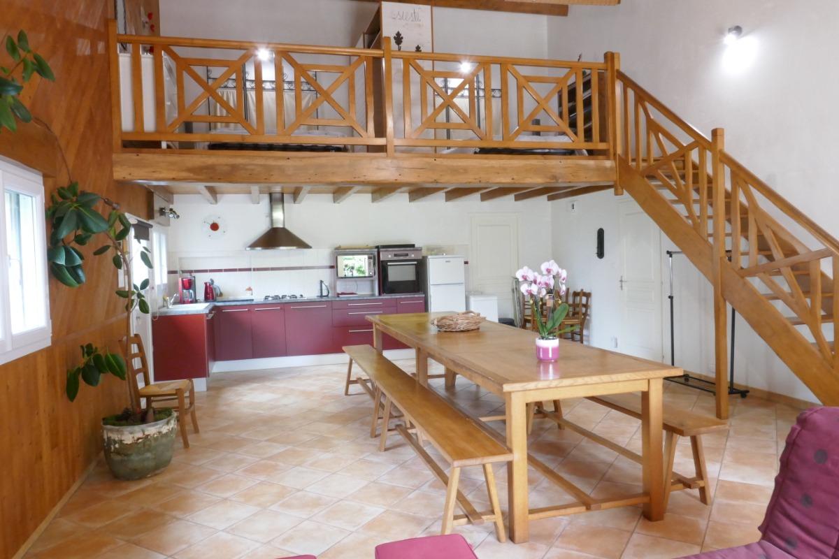 Cuisine - Location de vacances - Mouchamps
