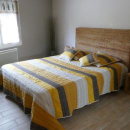 Chambre avec un lit en 160 - Location de vacances - Pouzauges