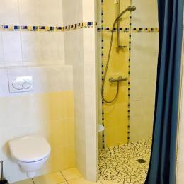 Salle de douche  - Location de vacances - Pouzauges
