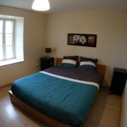 Chambre avec un lit en 160 donnant côté jardin - Location de vacances - Les Herbiers