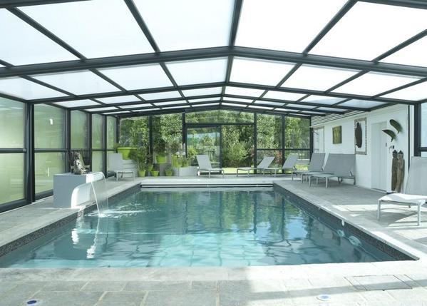 la piscine couverte chauffée sur le site - Location de vacances - Saint Jean de Monts