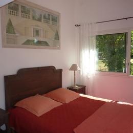 chambre avec lit en 160 - Location de vacances - Saint Jean de Monts