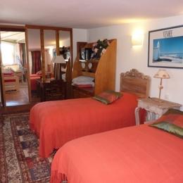 chambre avec 2 lits en 80 - Location de vacances - Saint Jean de Monts