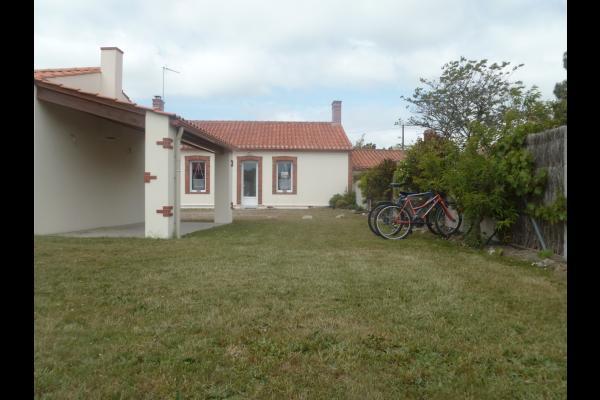 Extérieur avec préau - Location de vacances - Saint Jean de Monts