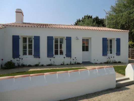 Façade Nord, côté rue - Location de vacances - Noirmoutier en l'Île