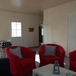 Ensemble de la pièce de vie - Location de vacances - Noirmoutier en l'Île