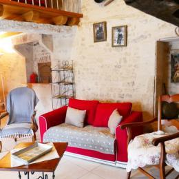Salon - Location de vacances - Saint Hilaire des Loges
